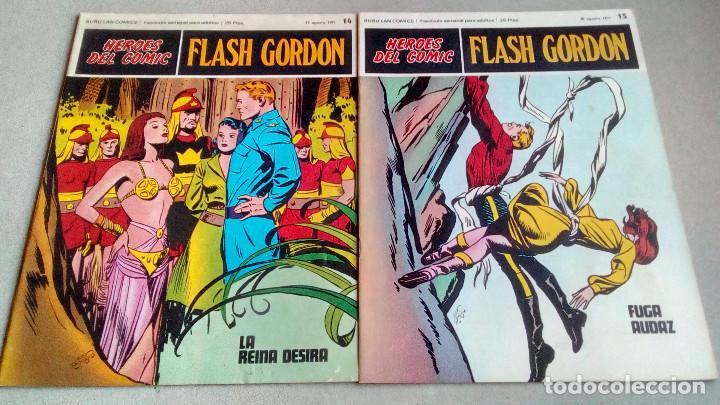 Cómics: FLASH GORDON - HEROES DEL COMIC - LOTE 23 EJEMPLARES EN FABULOSO ESTADO - 1ª EDICIÓN - Foto 24 - 79167025