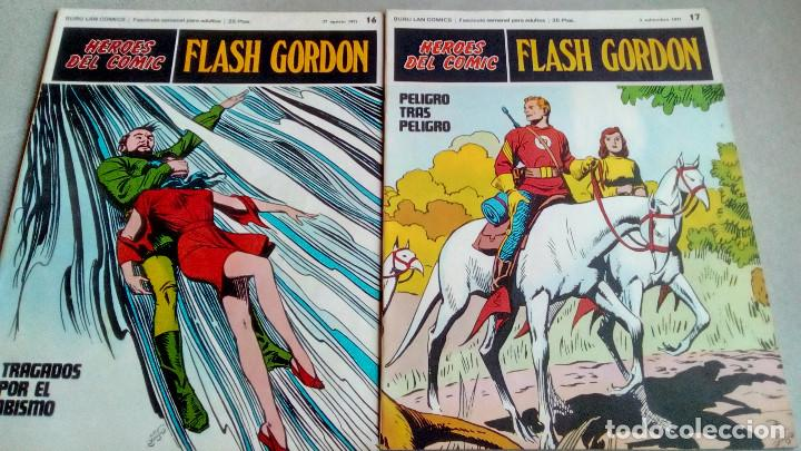Cómics: FLASH GORDON - HEROES DEL COMIC - LOTE 23 EJEMPLARES EN FABULOSO ESTADO - 1ª EDICIÓN - Foto 27 - 79167025