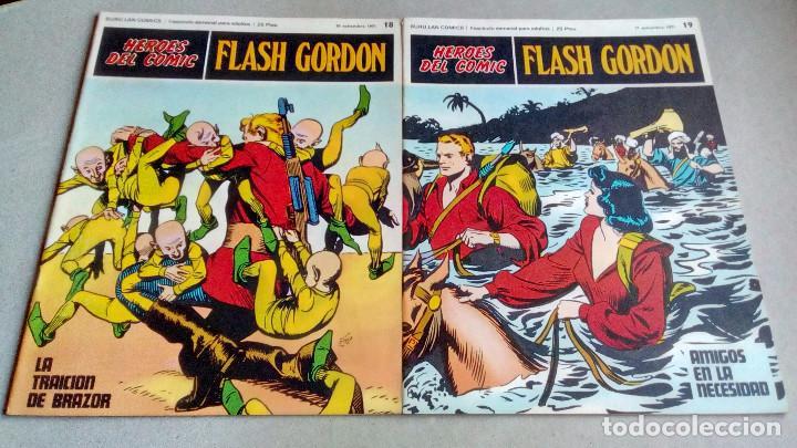 Cómics: FLASH GORDON - HEROES DEL COMIC - LOTE 23 EJEMPLARES EN FABULOSO ESTADO - 1ª EDICIÓN - Foto 30 - 79167025