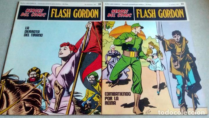 Cómics: FLASH GORDON - HEROES DEL COMIC - LOTE 23 EJEMPLARES EN FABULOSO ESTADO - 1ª EDICIÓN - Foto 33 - 79167025