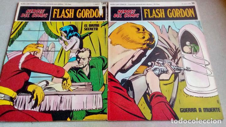 Cómics: FLASH GORDON - HEROES DEL COMIC - LOTE 23 EJEMPLARES EN FABULOSO ESTADO - 1ª EDICIÓN - Foto 36 - 79167025