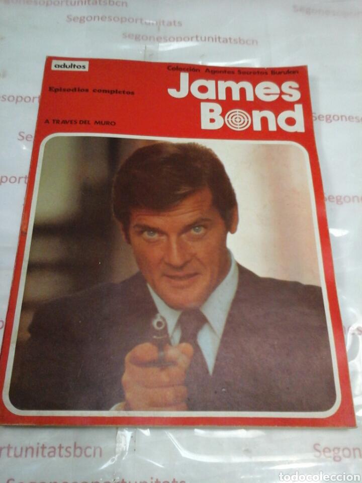 JAMES BOND - A TRAVÉS DEL MURO - BURU-LAN (Tebeos y Comics - Buru-Lan - James Bond)