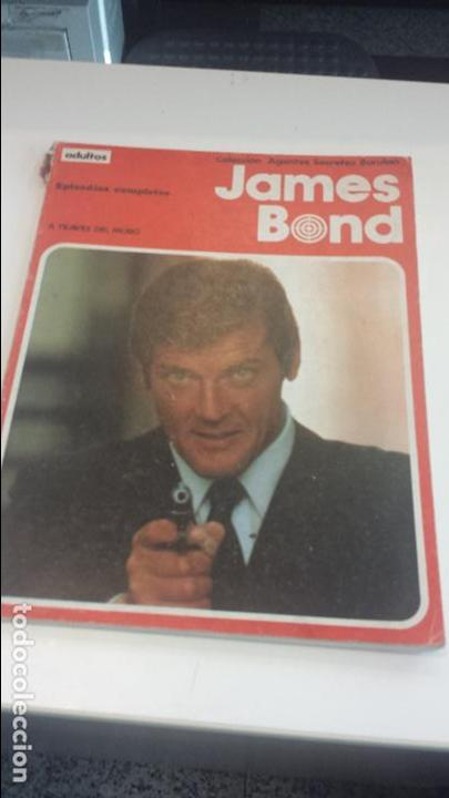 COMIC BURU LAN JAMES BOND 1 A TRAVES DEL MURO PB (Tebeos y Comics - Buru-Lan - James Bond)