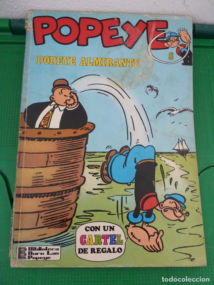Cómics: LOTE DE 23 NUMEROS DE POPEYE DE BURU LAN - Foto 40 - 80242973