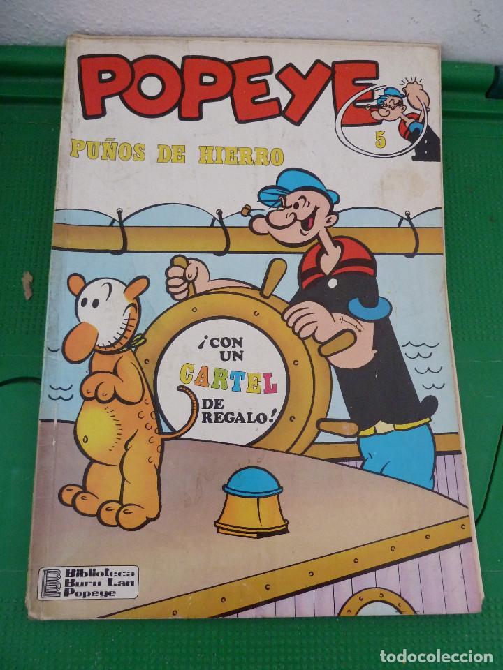 Cómics: LOTE DE 23 NUMEROS DE POPEYE DE BURU LAN - Foto 42 - 80242973