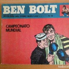 Cómics: BEN BOLT NUM. 8 -ANTOLOGIA DEL COMIC NUM. 15- BURULAN 1973. Lote 80443529