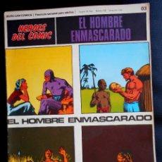 Cómics: EL HOMBRE ENMASCARADO HEROES DEL COMIC BURU LAN COMICS 03 EL HOMBRE ENMASCARADO . Lote 80592326