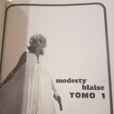 Cómics: MODESTY BLAISE TOMO 1 Y 2. Lote 80634610