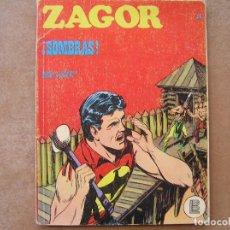 Cómics: ZAGOR Nº 24 -- BURU LAN 1972 - SOMBRAS . Lote 80804295