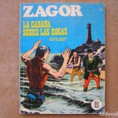 Cómics: ZAGOR Nº 25 - BURU LAN 1972 - LA CABAÑA SOBRE LAS ROCAS - BUEN ESTADO. Lote 80804955