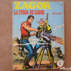 Cómics: ZAGOR Nº 28 - BURU LAN 1972 - LA FURIA DE ZAGOR - EXCELENTE ESTADO . Lote 80806231