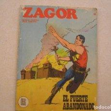 Cómics: ZAGOR Nº 33 - BURU LAN 1972 - EL FUERTE ABANDONADO - P. Lote 81311508