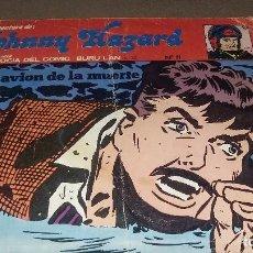 Cómics: JOHNNY HAZARD. NUMERO11. BURU LAN. EL AVION DE LA MUERTE REF. 063. Lote 81801748