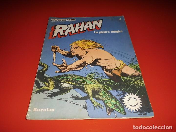 RAHAN Nº 4 - LA PIEDRA MÀGICA - BURULAN (Tebeos y Comics - Buru-Lan - Rahan)