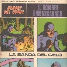 Fumetti: HÉROES DEL COMIC. EL HOMBRE ENMASCARADO. Nº 09. BURU LAN 1972. (RF.MA) C/38. Lote 152943221