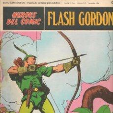 Cómics: HÉROES DEL COMIC. FLASH GORDON. Nº 015. BURU LAN. 1972.(RF.MA) C/38. Lote 83004240