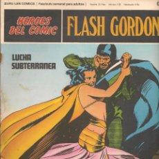 Cómics: HÉROES DEL COMIC. FLASH GORDON. Nº 018. BURU LAN. 1972.(RF.MA) C/38. Lote 83004456
