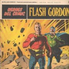 Cómics: HÉROES DEL COMIC. FLASH GORDON. Nº 019. BURU LAN. 1972.(RF.MA) C/38. Lote 83004520