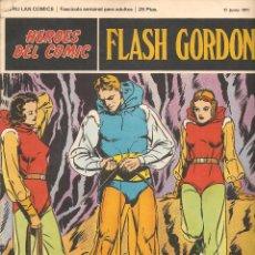 Cómics: HÉROES DEL COMIC. FLASH GORDON. Nº 5. BURU LAN. 1972.(RF.MA) C/38. Lote 83006560