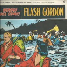 Cómics: FLASH GORDON BURU-LAN FASCICULOS HEROES DEL COMIC (1972) Nº 19. Lote 83144532