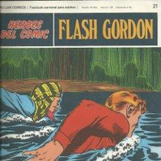 Cómics: FLASH GORDON BURU-LAN FASCICULOS HEROES DEL COMIC (1972) Nº 21. Lote 83144828