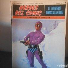 Cómics: EL HOMBRE ENMASCARADO - EL MISTERIO DE BAROGAR - 4. Lote 83156472
