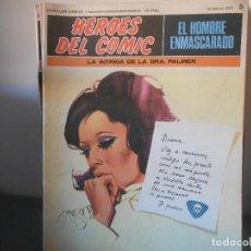 Cómics: EL HOMBRE ENMASCARADO - LA INTRIGA DE LA SEÑORA PALMER 5. Lote 83156560