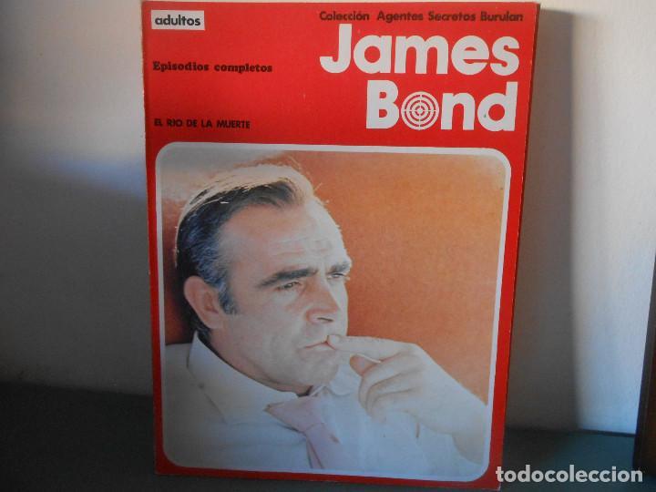 JAMES BOND -EL RIO DE LA MUERTE (Tebeos y Comics - Buru-Lan - James Bond)