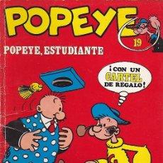 Cómics: COMIC COLECCION POPEYE Nº 19. Lote 83496824