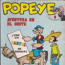 Cómics: COMIC COLECCION POPEYE Nº 6. Lote 83497120