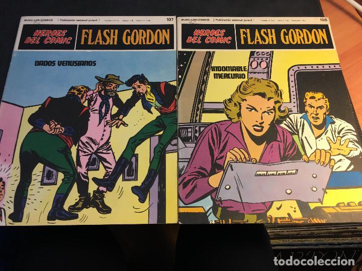 Cómics: FLASH GORDON HEROES DEL COMIC LOTE 87 EJEMPLARES (ED. BURULAN) (COIB162) - Foto 4 - 146728464
