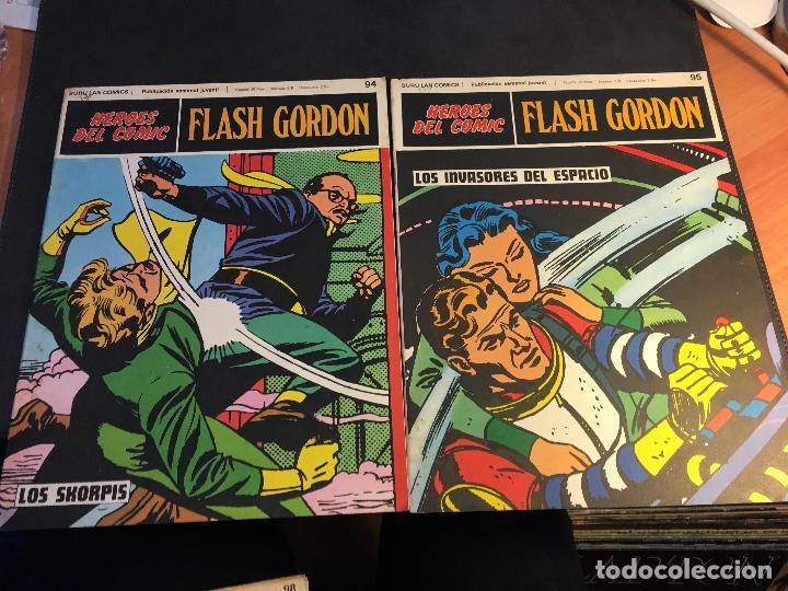 Cómics: FLASH GORDON HEROES DEL COMIC LOTE 87 EJEMPLARES (ED. BURULAN) (COIB162) - Foto 5 - 146728464