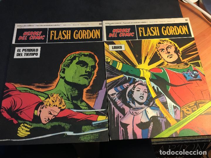 Cómics: FLASH GORDON HEROES DEL COMIC LOTE 87 EJEMPLARES (ED. BURULAN) (COIB162) - Foto 7 - 146728464