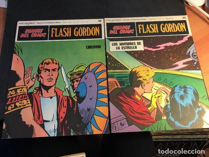Cómics: FLASH GORDON HEROES DEL COMIC LOTE 87 EJEMPLARES (ED. BURULAN) (COIB162) - Foto 8 - 146728464