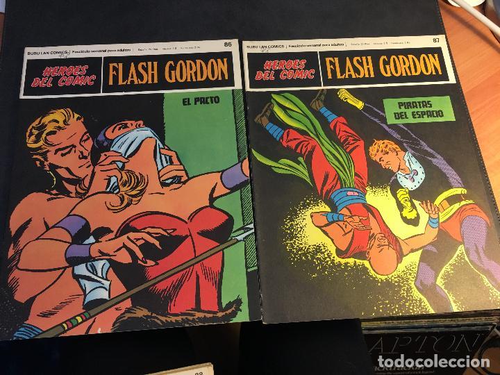 Cómics: FLASH GORDON HEROES DEL COMIC LOTE 87 EJEMPLARES (ED. BURULAN) (COIB162) - Foto 9 - 146728464