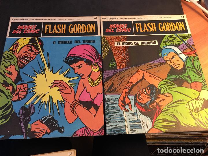 Cómics: FLASH GORDON HEROES DEL COMIC LOTE 87 EJEMPLARES (ED. BURULAN) (COIB162) - Foto 11 - 146728464