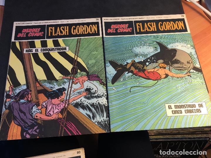 Cómics: FLASH GORDON HEROES DEL COMIC LOTE 87 EJEMPLARES (ED. BURULAN) (COIB162) - Foto 13 - 146728464