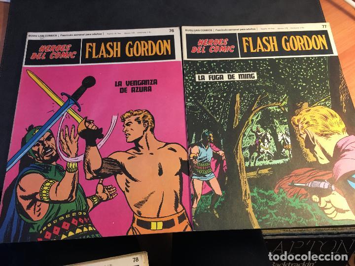 Cómics: FLASH GORDON HEROES DEL COMIC LOTE 87 EJEMPLARES (ED. BURULAN) (COIB162) - Foto 14 - 146728464
