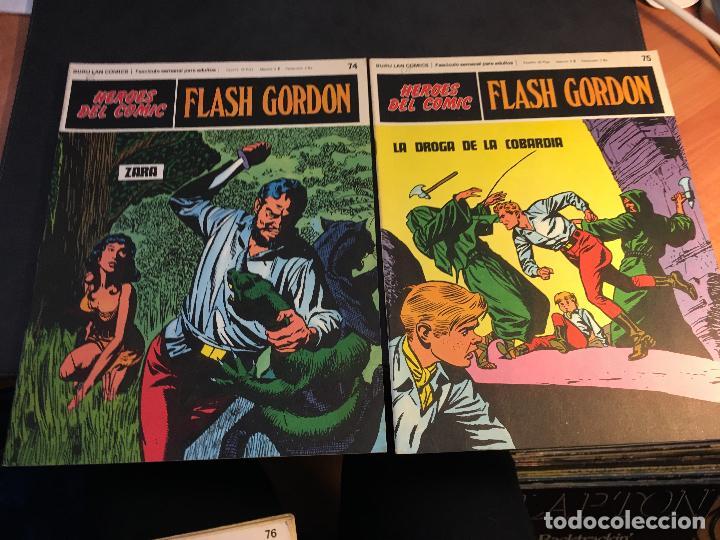 Cómics: FLASH GORDON HEROES DEL COMIC LOTE 87 EJEMPLARES (ED. BURULAN) (COIB162) - Foto 15 - 146728464