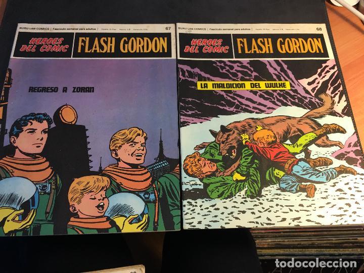 Cómics: FLASH GORDON HEROES DEL COMIC LOTE 87 EJEMPLARES (ED. BURULAN) (COIB162) - Foto 18 - 146728464