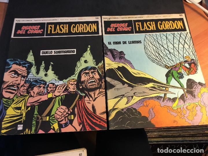 Cómics: FLASH GORDON HEROES DEL COMIC LOTE 87 EJEMPLARES (ED. BURULAN) (COIB162) - Foto 22 - 146728464