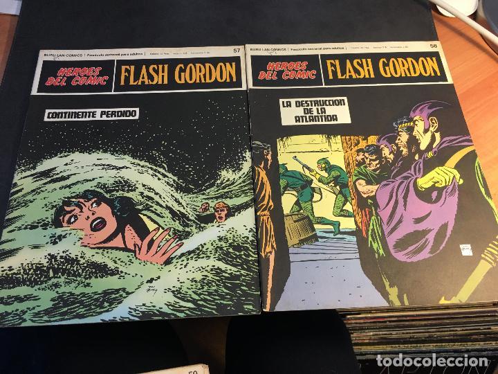 Cómics: FLASH GORDON HEROES DEL COMIC LOTE 87 EJEMPLARES (ED. BURULAN) (COIB162) - Foto 23 - 146728464