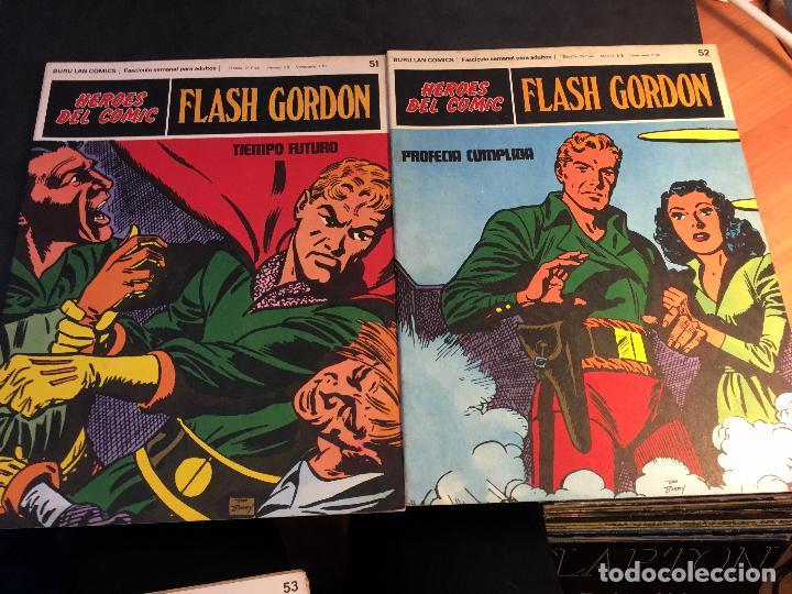 Cómics: FLASH GORDON HEROES DEL COMIC LOTE 87 EJEMPLARES (ED. BURULAN) (COIB162) - Foto 26 - 146728464