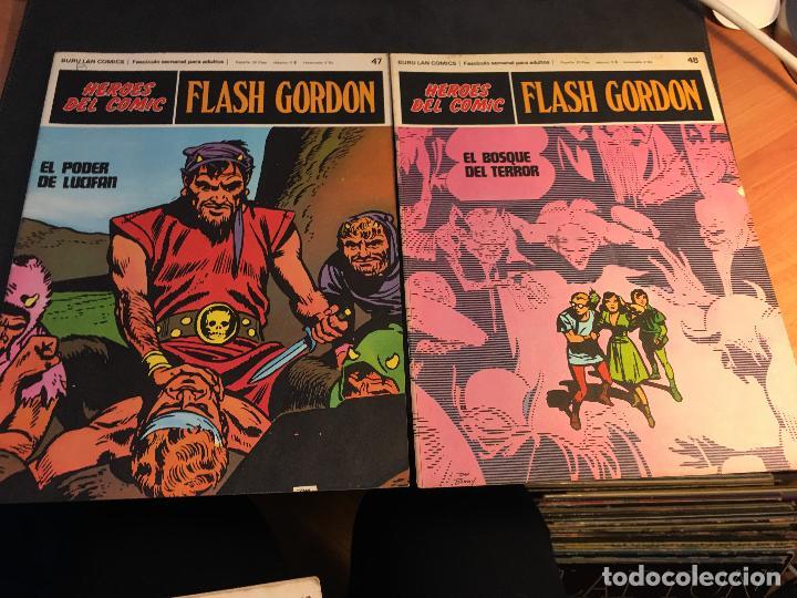 Cómics: FLASH GORDON HEROES DEL COMIC LOTE 87 EJEMPLARES (ED. BURULAN) (COIB162) - Foto 28 - 146728464