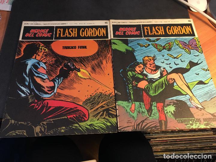 Cómics: FLASH GORDON HEROES DEL COMIC LOTE 87 EJEMPLARES (ED. BURULAN) (COIB162) - Foto 29 - 146728464