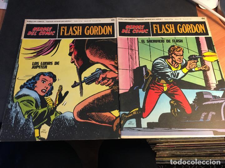 Cómics: FLASH GORDON HEROES DEL COMIC LOTE 87 EJEMPLARES (ED. BURULAN) (COIB162) - Foto 30 - 146728464