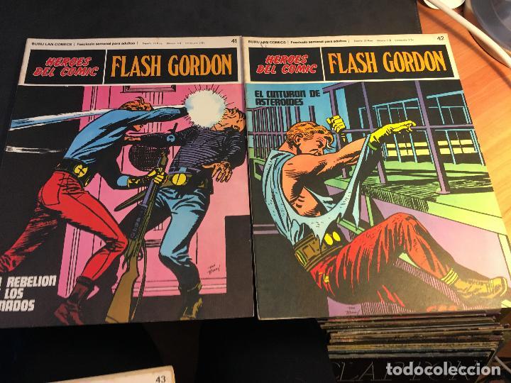 Cómics: FLASH GORDON HEROES DEL COMIC LOTE 87 EJEMPLARES (ED. BURULAN) (COIB162) - Foto 31 - 146728464