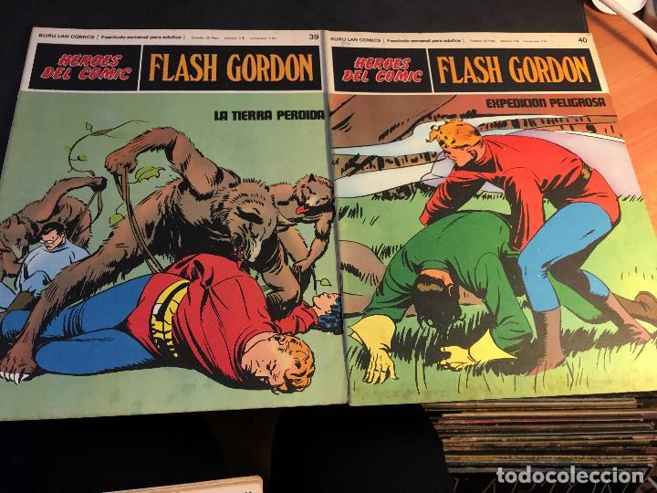 Cómics: FLASH GORDON HEROES DEL COMIC LOTE 87 EJEMPLARES (ED. BURULAN) (COIB162) - Foto 32 - 146728464