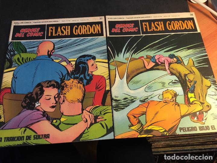 Cómics: FLASH GORDON HEROES DEL COMIC LOTE 87 EJEMPLARES (ED. BURULAN) (COIB162) - Foto 33 - 146728464