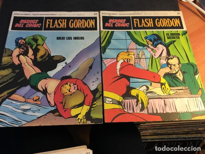 Cómics: FLASH GORDON HEROES DEL COMIC LOTE 87 EJEMPLARES (ED. BURULAN) (COIB162) - Foto 34 - 146728464